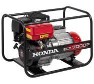 Бензиновый генератор Honda ECT7000P- фото