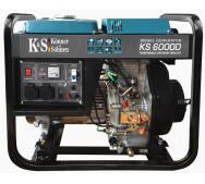 Дизельный генератор Konner&Sohnen KS 6000D- фото