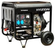 Генератор бензиновий Hyundai DHY 8000LE- фото