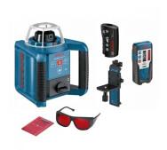 Ротационный лазерный нивелир Bosch GLR 300 HV Set- фото