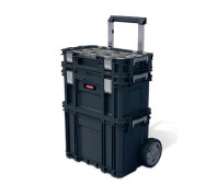 Набір ящиків для транспортування KETER Smart Rolling System (3шт.) (17203038)- фото
