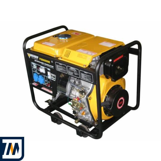 Дизельний генератор Forte FGD6500E - фото 1