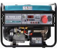 Бензиновый генератор Konner&Sohnen KS 7000E ATS-3- фото