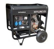 Генератор бензиновий Hyundai DHY 6000LE- фото