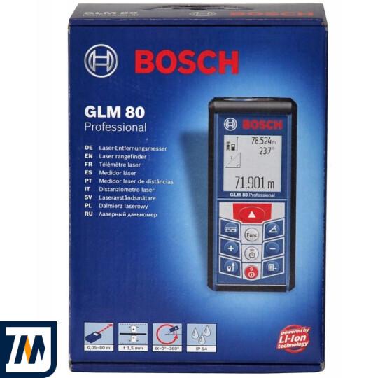 Лазерний далекомір Bosch GLM 80 + R 60 - фото 11