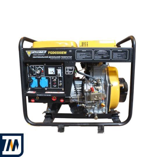 Дизельный генератор Forte FGD6500EW - фото 1