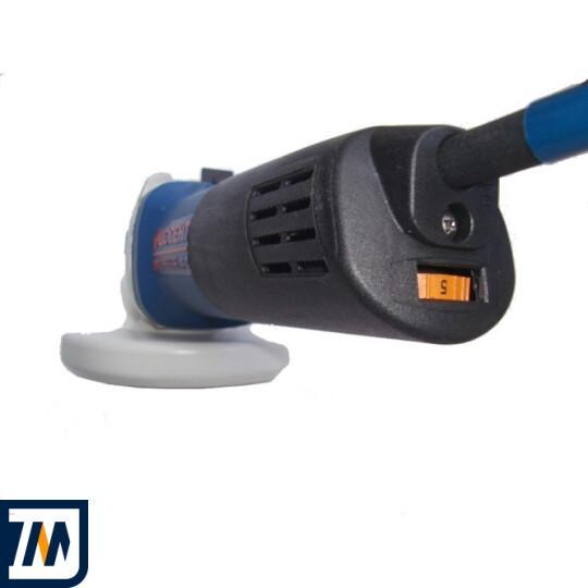 Угловая шлифовальная машина Фиолент МШУ2-9-125Э - фото 3
