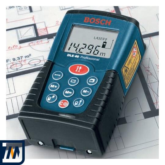 Лазерний далекомір Bosch DLE 40 - фото 4