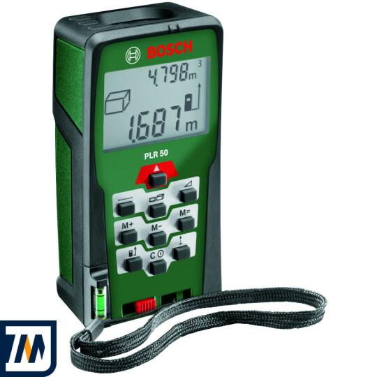 Лазерний далекомір Bosch PLR 50 - фото 1