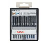 Набір пилок Bosch Robust Line Wood and Metal 10 шт- фото