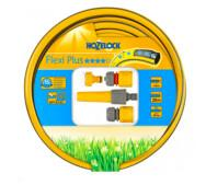 Шланг для полива 20м Hozelock Flexi Plus 19 мм, + набор 2352 (145153)- фото