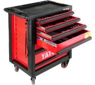 Шафа сервісна Yato  для інструментів на 6 шухляд 177 елементів (YT-5530)- фото