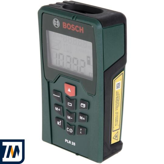 Лазерний далекомір Bosch PLR 25 - фото 1