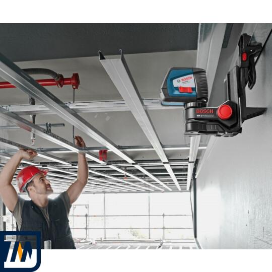Лазерний нівелір Bosch GLL 2-50 + BM1 + LR2 L-Boxx - фото 9