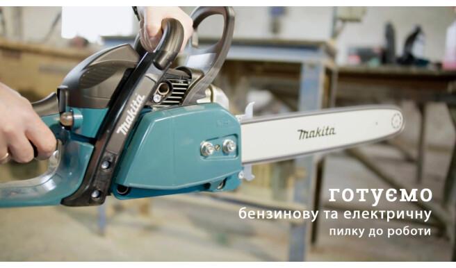 Готовим бензиновую и электрическую пилу к работе