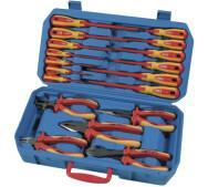 Набір ручних інструментів у валізі Airpress 75260- фото