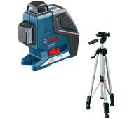 Лазерний нівелір Bosch GLL 2-80 P + BS 150- фото