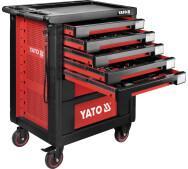 Шафа сервісна Yato  для інструментів на 7 шухляд 189 елементів (YT-55292)- фото