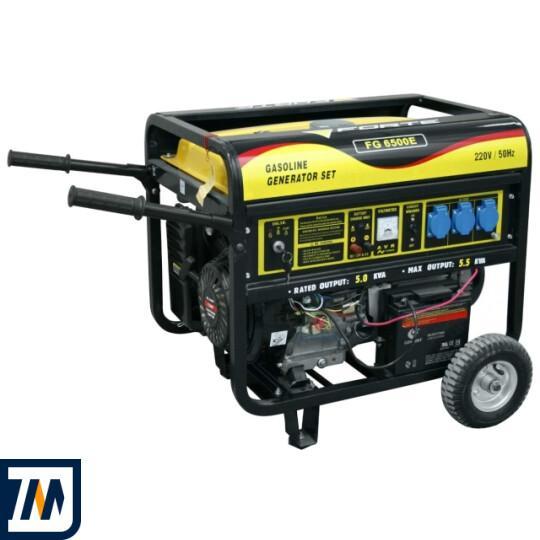 Бензиновый генератор Forte FG6500E - фото 1