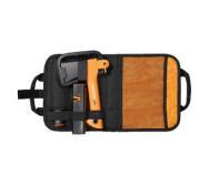 Набір: сокира Fiskars X5 XXS (121123) + ніж K40 (125860) + точилка + сумка- фото