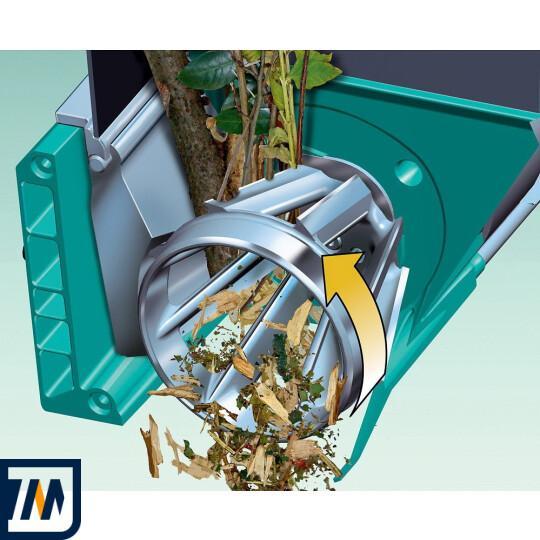 Садовый измельчитель Bosch AXT 25 TC - фото 3