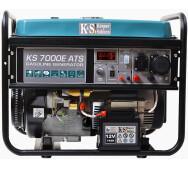 Бензиновый генератор Konner&Sohnen KS 7000E ATS- фото