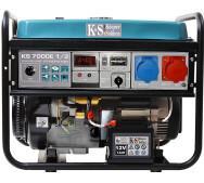 Бензиновий генератор Konner & Sohnen KS 7000E-1/3- фото