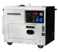 Генератор дизельный Hyundai DHY 8000SE- фото