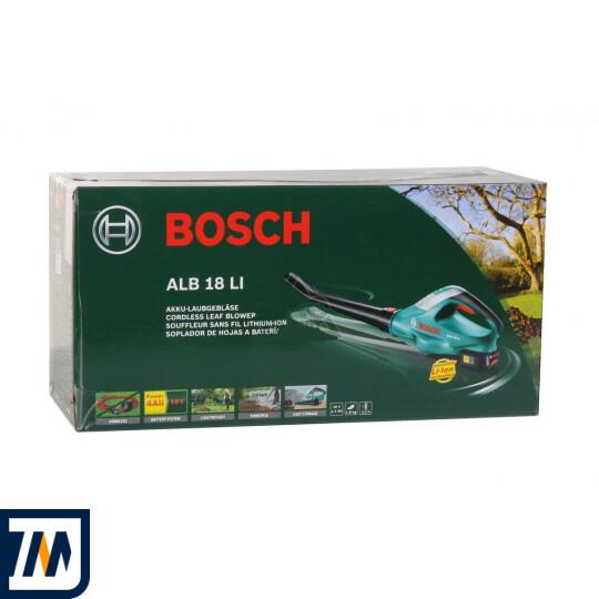 Садовий пилосос-повітродувка Bosch ALB 18 LI - фото 2
