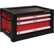 Шафка сервісна Yato  для інструментів на 3 шухляди (YT-09151)- фото