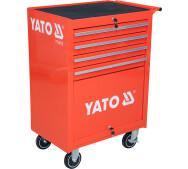 Шафа сервісна Yato  для інструментів на 4 шухляди (YT-0912)- фото