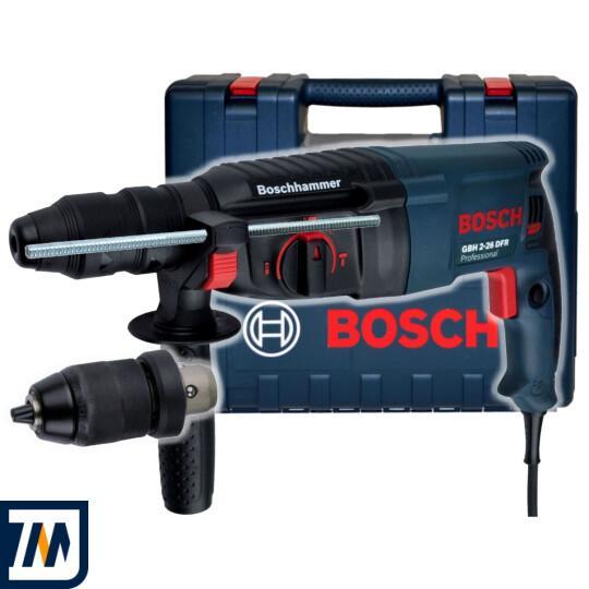 Перфоратор Bosch GBH 2-26 DFR - фото 1