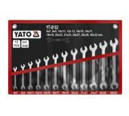Набір ключів рожкових 6-32 мм. 12 шт. Yato YT-0152- фото