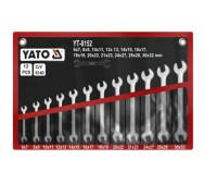 Набор ключей рожковых 6-32 мм. 12 шт. Yato YT-0152- фото