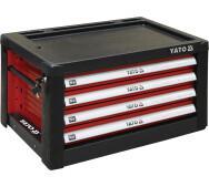 Шафка сервісна Yato для інструментів на 4 шухляди (YT-09152)- фото