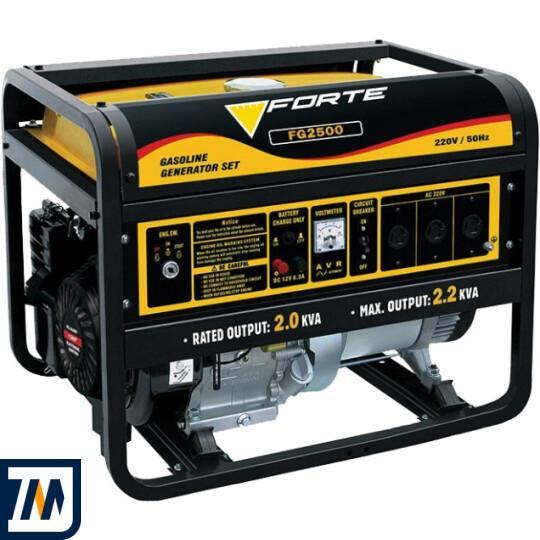 Бензиновий генератор FORTE FG2500 - фото 1