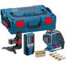 Лазерний нівелір Bosch GLL 3-80 P + BM1 + RL2 L-BOXX - фото t1