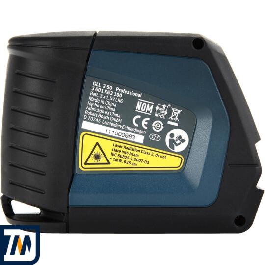 Лазерний нівелір Bosch GLL 2-50 + BM1 + LR2 L-Boxx - фото 4
