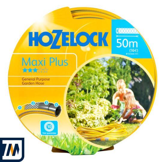 Шланг для полива 50м Hozelock Maxi Plus 12,5mm (152121) - фото 1
