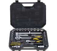 Набор торцовых ключей DREL CON-SOC-5572 1/2 і 1/4 дюйма, 72 шт.- фото