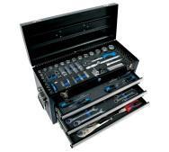 Набір ручних інструментів у валізі Airpress 75250- фото