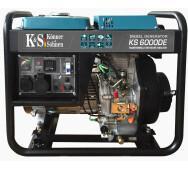 Дизельный генератор Konner&Sohnen KS 6000DE- фото