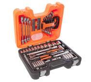 Комбинированный набор инструментов Bahco S910 Socket Set 92 1/2 и 1/4- фото