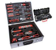 Набір ручних інструментів у валізі Airpress 75270- фото