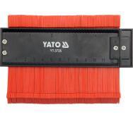 Трафарет для копирования сложных профилей 125 мм Yato YT-3735- фото