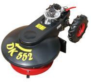 Роторная косарка к мотокультиваторам Szhentkerali DRAGON 55H (Honda), Quantum 60 (Briggs & Stratton)- фото