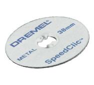 Коло Dremel SpeedClic металевий відрізний 38 мм (2615S456JC)- фото