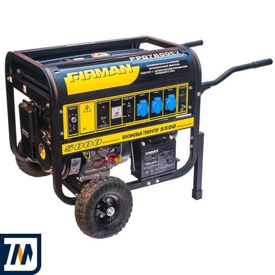 Бензиновый генератор Firman FPG7800E2 - фото 1