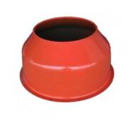 Верхня кришка барабана до бетонозмішувача Agrimotor 130, 155 л- фото