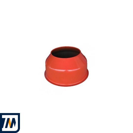 Верхняя крышка барабана к бетономешалке Agrimotor 130, 155 л  - фото 1